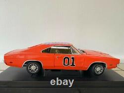 The Dukes Of Hazzard Dodge Charger 1969 General Lee 1/18 Neuf En Boite
