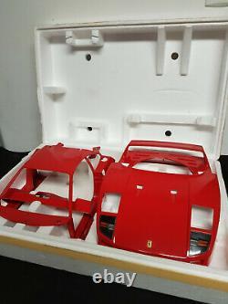 Très Rare Ferrari F40 1/8 Pocher Rivarossi + Full Autograph Model Transkit N°130