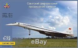 Tupolev Tu-144 Modelsvit Fiber/plastic Kit 1/72