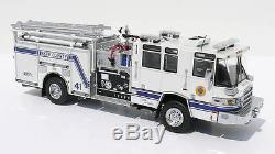 Twh 1/50 Camion Pompier Us Pierce Quantum Pompe Kern County N°41