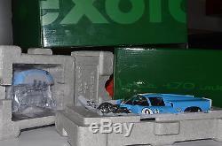 VERY RARE EXOTO 118 LOLA T70 Mk. III COUPE SEBRING 12hrs. 1968 JORDAN / PATRICK