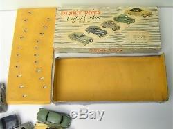 VRAI COFFRET 1955 Dinky Toys FRANCE Citroën 2CV 203 Aronde etc be traces humidit