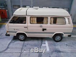 VW Volkswagen Bus T3 Faltdach Camper Westfalia Joker Camping Schuco Metall 118