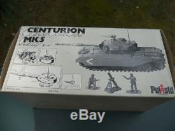 Vehicule Militaire 1/50 Polistil Ref Ca 104 Char Centurion Mk5 Sable Occasion