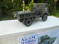 Vehicule Militaire Asam Models Ht 322 Fwd 4x4 Plateau Avec Treuil Mint Box
