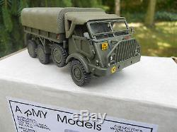 Vehicule Militaire Hart Models Daf Ya 328 Artillery Tractor Netherland Army Mib