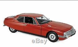 Very rare 1/18 Norev Citroën SM rouge red série limitée