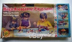 Vintage Corgi Toys Playset 853 Manège Enchanté Magic Roundabout