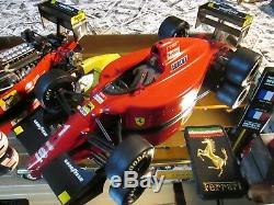 Vitrine Lot De 2 F1 Ferrari 641/2 F190 Formule 1 Tamiya 1/12 Figurine Prost