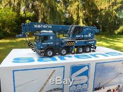 Wsi Models 02-1088 Camion Grue Liebherr Ltf1060 Porteur Scania Sarens