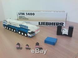 YCC MODELS GRUE LIEBHERR LTM 1400 BREUER 100 exemplaires 1/50 WITH BOX